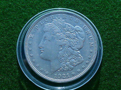 USA  Morgan Dollar 1921  Silber