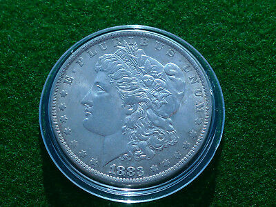 USA  Morgan Dollar 1983  Silber