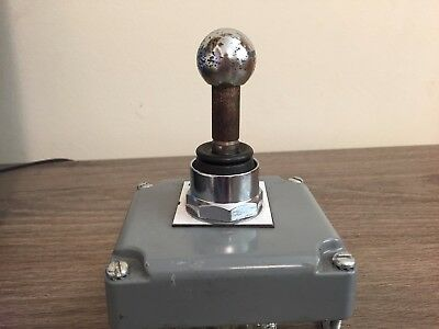 Used Schneider Electric 9001K35 5-Position Joystick Switch Ser. K Free Shipping!