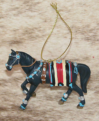 "TRAIL OF PAINTED PONIES Squash Blossom 2016 Ornament~2.25"" Tall~Native Jewelry~"