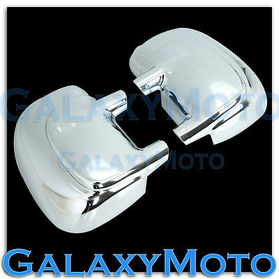 99-07 Ford Super Duty+00-05 Excursion Triple Chrome plated ABS Mirror Cover kit