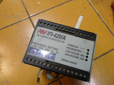 AW COMPANY -- FREQUENCY to ANALOG CONVERTER -- 120ac SUPPLY -- IFI-420/A