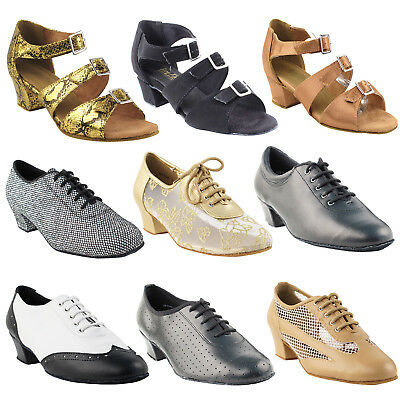 "~50 SHADES ~ 1.5"" Thick Low Heel Dance Dress Shoes Collections-I by Party Party"