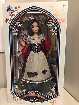 "SNOW WHITE Disney Store 2017 Limited Edition of 6000 17"" Doll"