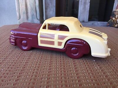 Rare Vintage Avon 1948 Chrysler Town & Country Aftershave Bottle