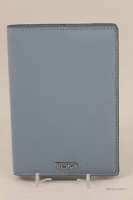"""New Tumi Prism Passport Cover in Baby Blue """"Something"""" Retails: $75"""