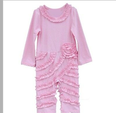 Girls Boutique Ruffle Romper Outfit, Toddler Girls Boutique Clothing, Pink