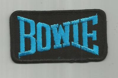 1970's VINTAGE DAVID BOWIE ROCK BAND CONCERT TOUR PATCH ONLY ONE ON EBAY!!!