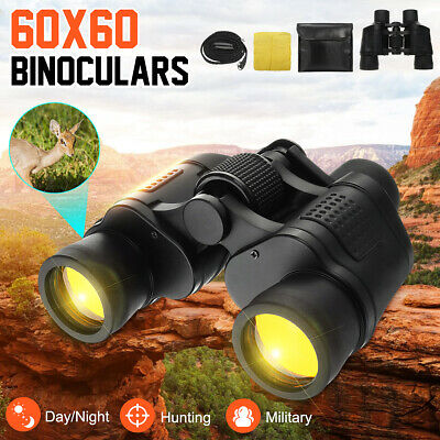 Professional HD 60x60 Day Night Vision Zoom Military Binoculars Telescope Gifts