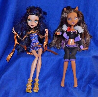 Monster High Dolls - All By Mattel - Lot of 2 -