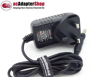 9V Mains AC Adapter Power Supply Charger 4 Reebok REV 10101 Fusion Cross Trainer
