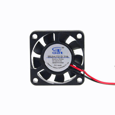 4010 24V Lüfter 40x40x10mm Brushless DC Fan Cooler 40mm 3D Drucker Prusa RepRap
