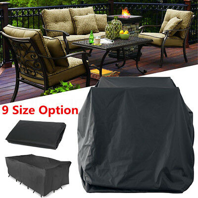 9 Size Waterproof Furniture Cover Outdoor Garden Yard Patio Table Protection