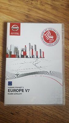 Boxed !!! Nissan Connect 1 Lcn1 Update Sd Card V7 2017 Cars 2008-2012 With Box
