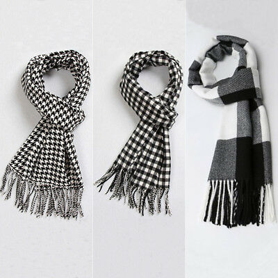 Men Women Winter Warm Scarf Solid Plaid Wool SCOTLAND High quality unisex Scarf
