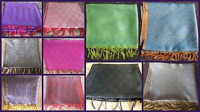 Wholesale Lot Of Women's Designer Silk Scarf Wraps Shawls, Scarves Stoles Boho