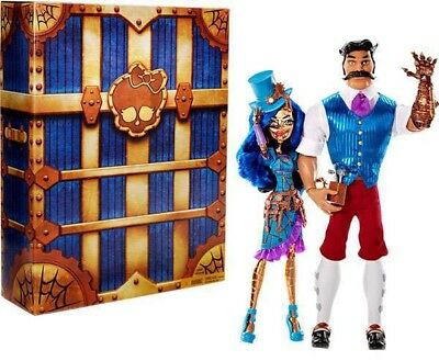 Monster High Robecca Steam & Hexiciah Steam Exclusive Doll 2-Pack RARE!! LAST 1!