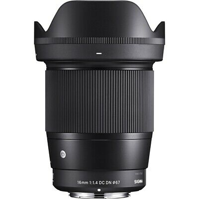 Sigma 16mm F1.4 DC DN Contemporary Lens in Micro Four Thirds Fit