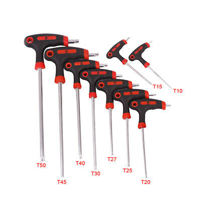 New Long Arm Star Torx Allen Hex Key Wrench Spanner Hexagon T Type Wrenches Tool