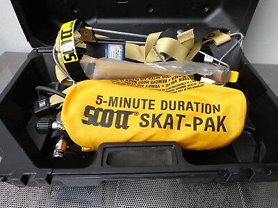 NEW SCOTT AIR-PAK 2.2 W/FILLED TANK TC-13F-181 (Mask not Included) 803572