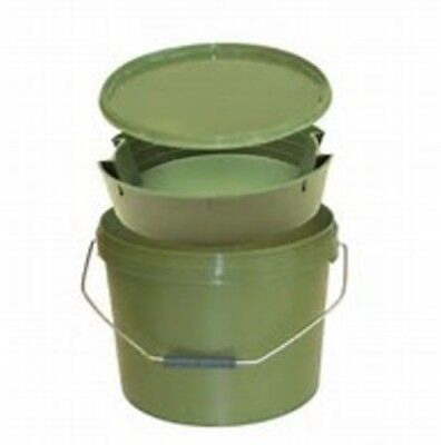 10lt round bait bucket and internal tray