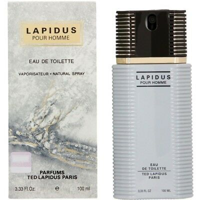 Ted Lapidus Lapidus Pour Homme 100ml EDT (M) SP Mens 100% Genuine (New)