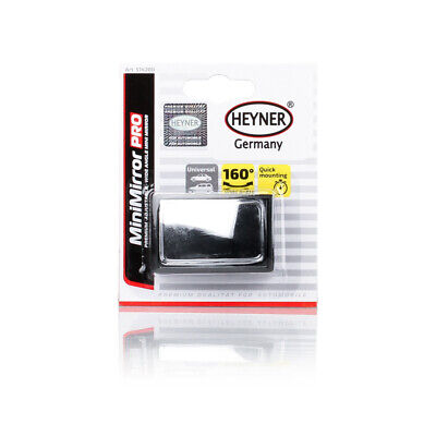 HEYNER GERMANY 2 x Blind spot mirrors GLASS Convex Perfect for towing parking