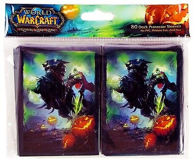 World of Warcraft - Headless Horseman - Card Sleeves (80) - UK Seller - FREE P+P