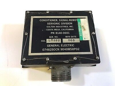 General Electric 8140-0601 Conditioner, Signal Remote