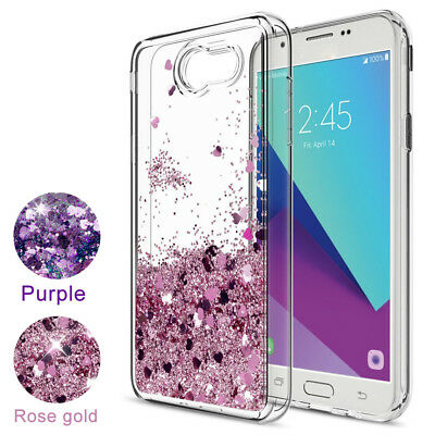 FOR SAMSUNG GALAXY J7V /J7 Sky Pro Case Quicksand Clear