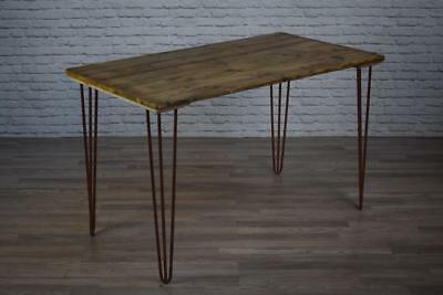 Vintage Industrial Style Hair Pin Cafe Bar Restaurant Kitchen Tables INC VAT