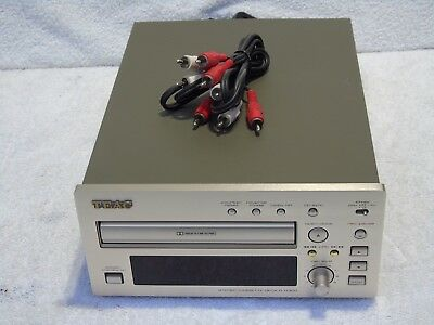 Teac R-H300 Reference 300 Series Cassette Recorder & Player + Connecting Cables