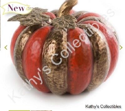 Authentic Mackenzie Childs    Persimmon Pumpkin    NEW