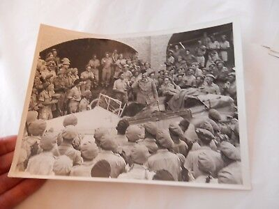 GEN SMUTTS ITALY 6TH SOUTH AFRICAN ARMOURED DIVISION orig Press photo