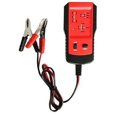 AE100 Electronic Automotive Relays Tester 12V Car Diagnostic AutoBattery Checker
