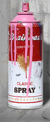 ☆  MR. BRAINWASH  ☆  Spraydose ☆  spray can ☆ signiert   ☆  limitiert  ☆