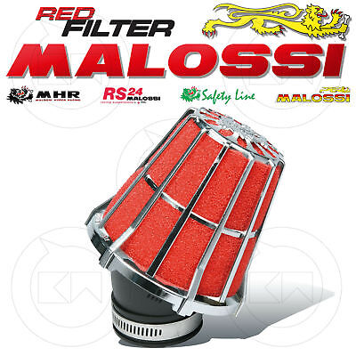 Malossi 047593K0 Filtro Aria Red Filter E5 Ø38 X Carburatori Dell'orto Phva 17,5