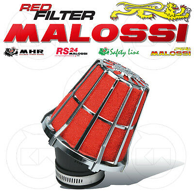 Malossi 043296K0 Filtro Aria Red Filter E5 Ø38 Per Carburatori Dell'orto Phbl 24