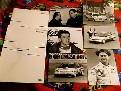 2x Pressemappe Ford Mondeo 24V STW Cup 1996 + Ford Fiesta Cup 1991 Boutsen Asch
