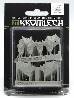 Kromlech KRCB172 Chaos Legionary Winged Jump Pack (5 Pairs) Conversion Bits Wing
