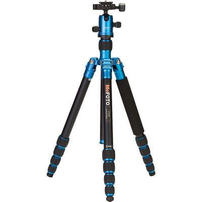 MeFOTO RoadTrip Aluminum Travel Tripod (Blue, store demo)