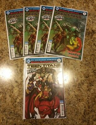 Teen Titans 12 Lot 5x (5 copies) 1st Appearance Batman Who Laughs