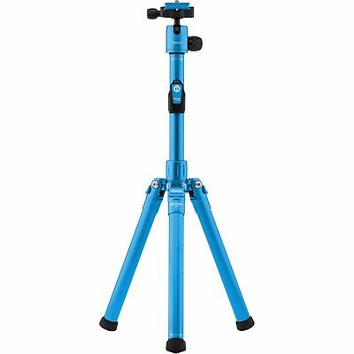 MeFOTO BackPacker Air Travel Tripod (Blue, NEW, store demo)