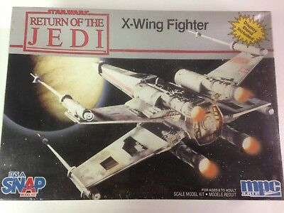 Star Wars Return of the Jedi X-Wing Fighter Scale Model Kit von MPC Ertl