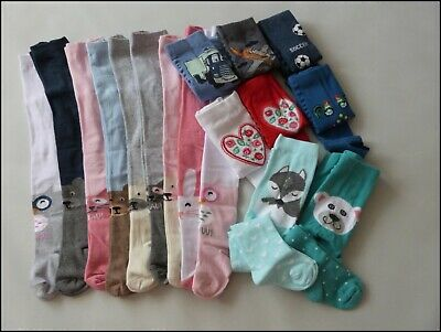 BEAUTIFUL Baby Girls Boys Tights Pants Warm Cotton Age 12-18 Months / 86cm
