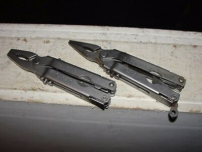 2-Gerber Multi-Tool Simonds Heavy Duty Blunt Nose & NEEDLE NOSE Pliers LOT OF 2