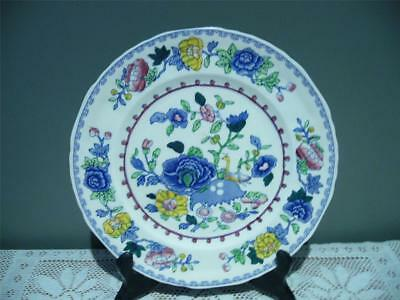 Mason's Hand Accented Dinner / Display Plate - Regency - Vintage - Ironstone Vgc