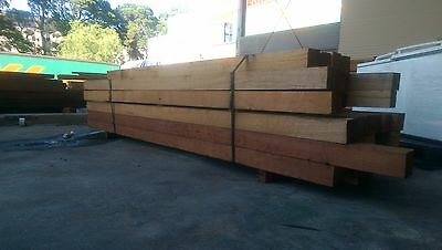 100x100 Unseasoned Hardwood Fencing Posts