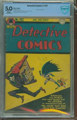 Detective Comics #102 [1945] Certified[5.0] Real Estate Steal