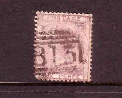 GREAT BRITAIN....  1856  6d lilac used, Sg70....cv £95